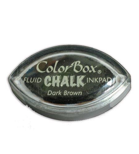 Tampón de tinta cat´s eye chalk - dark brown - CL71435