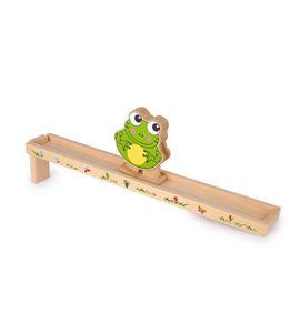 Rana en movimiento con rampa de madera - 5265