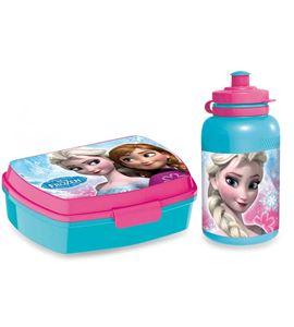 Botella y fiambrera frozen - 5590
