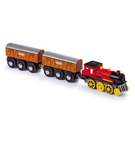 Locomotora eléctrica con dos vagones - 5802