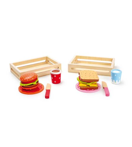 Hamburguesa y sándwich, set de 2 - 5852