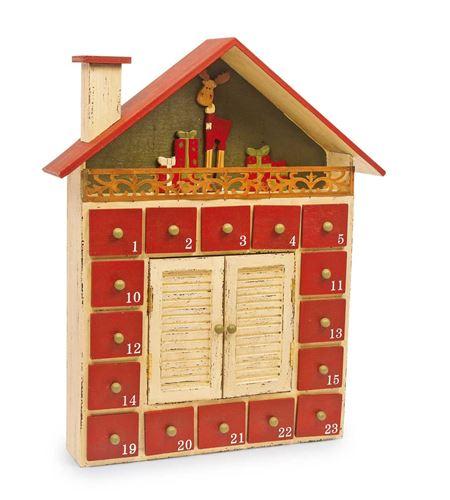 """Calendario de adviento """"casita invernal"""" - 6180"""