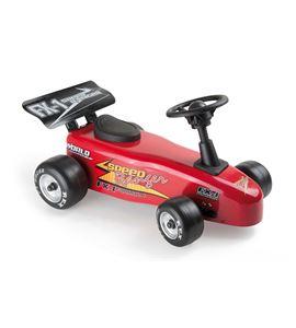 Correpasillos coche de carreras rojo - 6506