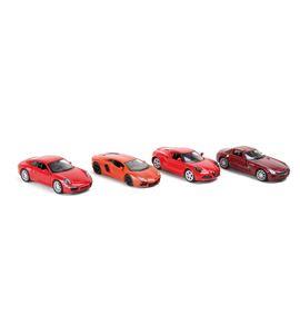 Display coches deportivos rojos - 6648
