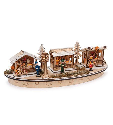 "Lampara ""bazar navideño"" - 6860"