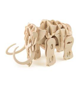 Juego de construcción de madera mamut robot - 6948