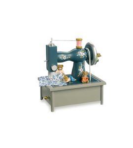 """Reloj de música """"máquina de coser"""" - 7110"""