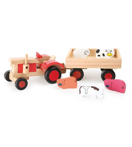 Tractor con animales - 7158