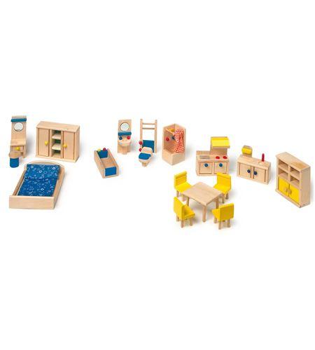 Muebles de muñeca con cocina - 7218