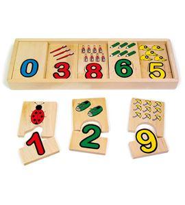 Coordinación de números - 7257
