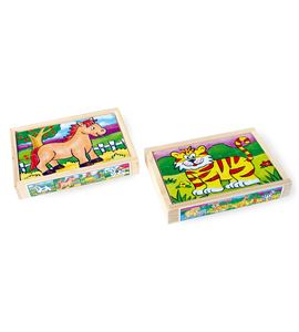 Caja de puzle, animales - 7337
