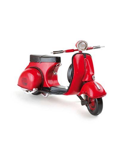 """Ciclomotor rojo """"vintage"""" - 7436"""
