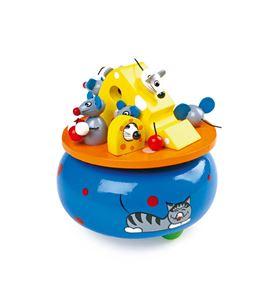 "Reloj de música ""ensueño de ratones"" - 7545"