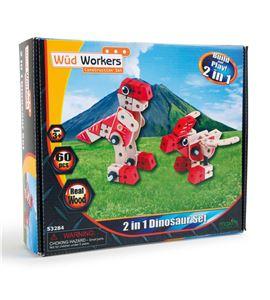 Set de construcción dinosaurio 2 en 1 - 7806