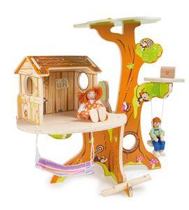 Casa en el árbol, incl. muñequitos - 7807