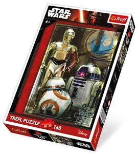 Puzle star wars droids, 160 piezas - 7864