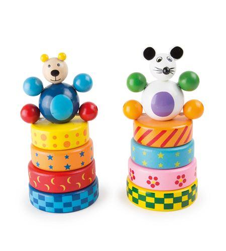 Ratón y oso para ensartar - 7990