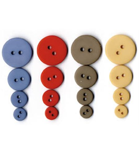 Set de botones circulares - sea - UBBOR10