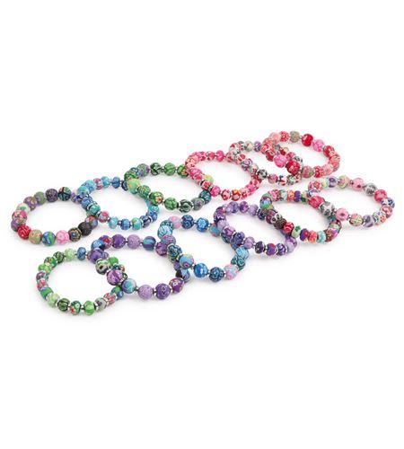 Pulsera perlas fimo - 8346
