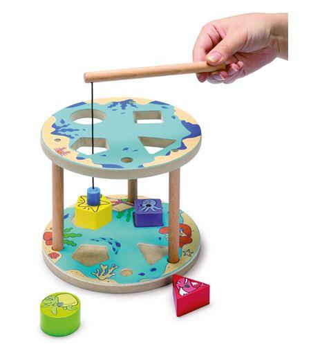 Juego de pesca, formas - 8523