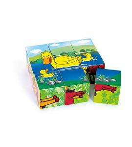 "Puzle de cubos ""granja"" - 8552"
