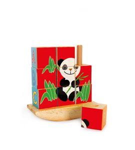 """Puzle de cubos """"panda"""" - 8556"""
