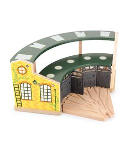 Garaje de trenes round house - 8558