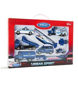 Vehículos en miniatura policía - 8586
