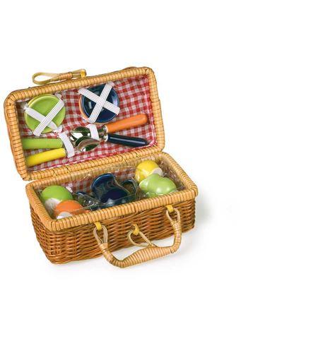Cesta de pícnic, colorido - 8951