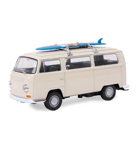 """Coche modelo """"vw bus t2 con tabla de surf"""" - 9324"""