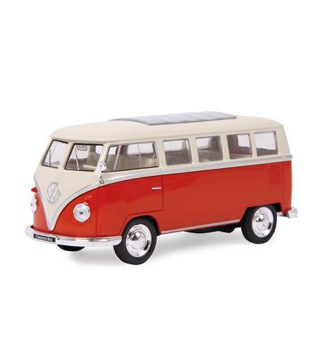 """Coche modelo vw """"bus clásico"""" - 9325"""