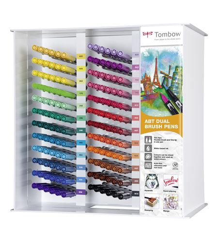 Expositor tombow dual brush pens - 144 - ABT24CSET_SIDE