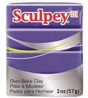Sculpey iii - purple 57gr.