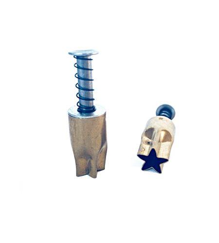 Cortador para arcilla - estrella 1,1cm. - PC2STC