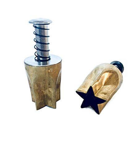 Cortador para arcilla - estrella 1,6cm. - PCAST