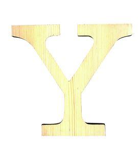 Letra madera pequeña y - 14001105