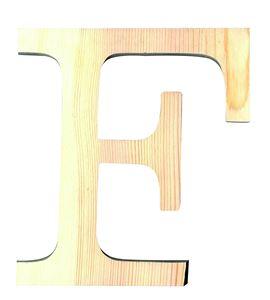 Letra madera grande f - 14001112