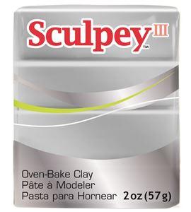 Sculpey iii - silver 57gr. - 31130