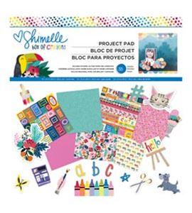 Bloc de papel de scrapbook - shimelle - 346607