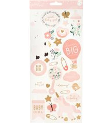 Set de stickers - baby girl - 732745
