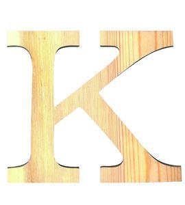 Letra madera grande k - 14001117