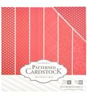 Pack de papel-cartulina - rojo
