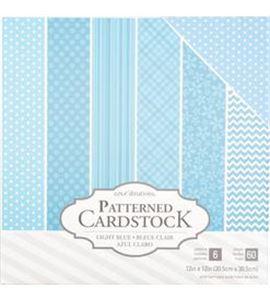 Pack de papel-cartulina - azul claro - 379542