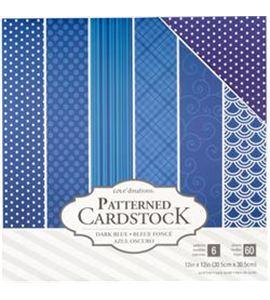 Pack de papel-cartulina - azul oscuro - 379543