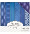 Pack de papel-cartulina - azul oscuro