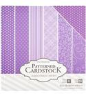 Pack de papel-cartulina - violeta