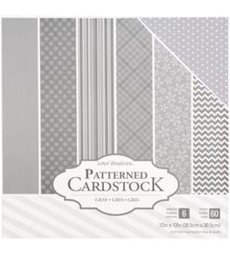 Pack de papel-cartulina - gris - 379547