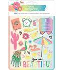 Set de stickers - beautiful