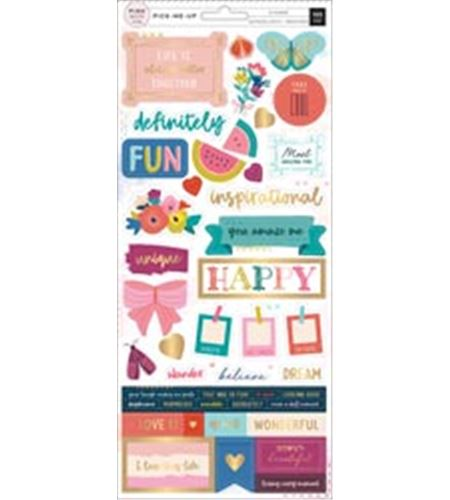 Set de stickers - inspirational - 310634