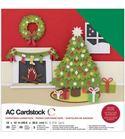 Pack de papel-cartulina - navidad